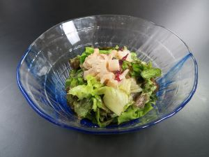 カミナリイカのサラダ