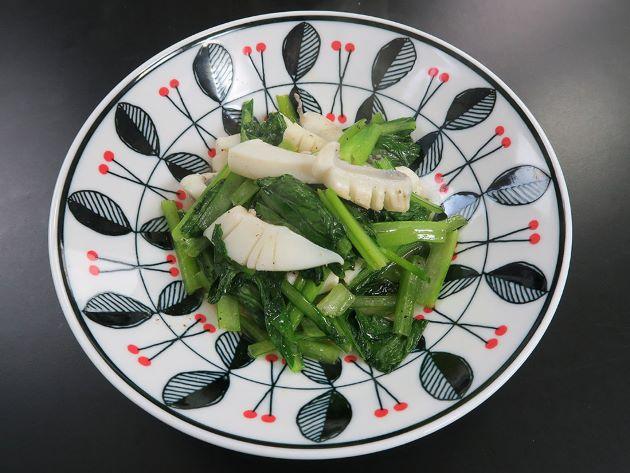 カミナリイカの中華炒め