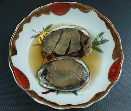 エゾアワビの煮貝