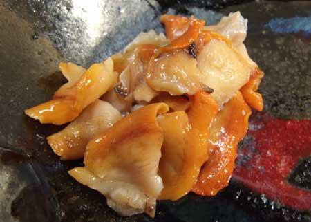 サルボウガイの刺身