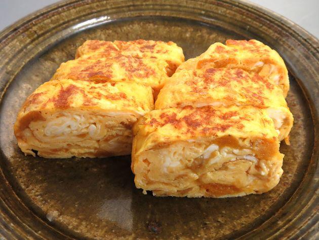 キタムラサキウニの卵焼き