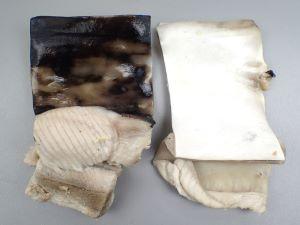 アオザメの皮の湯引き