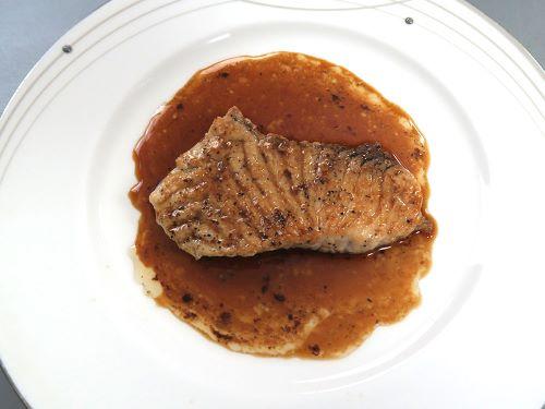 アオザメのステーキ