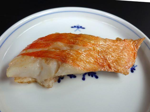 フウセンキンメの塩焼き