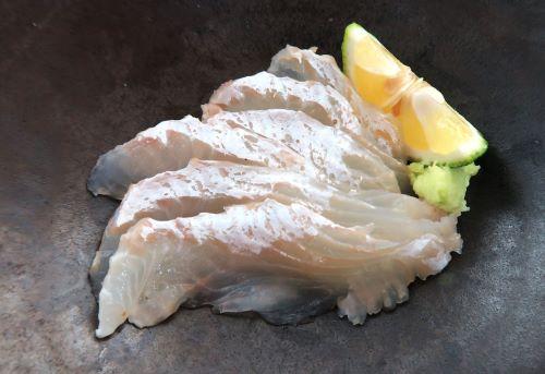 クロガレイの塩焼き