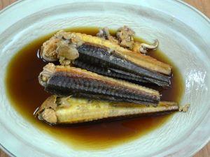 七郎魚の煮つけ
