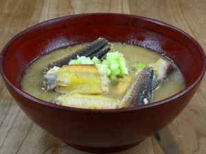 七郎魚のみそ汁