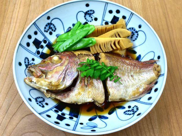 小鯛の煮つけ