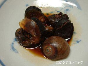 ツメガタイの煮貝