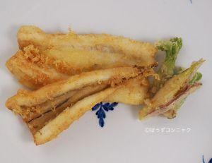 ギンアナゴの天ぷら