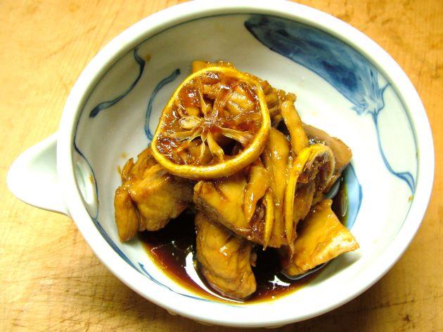 キハダマグロのゆず煮