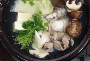 オオスジハタの鍋