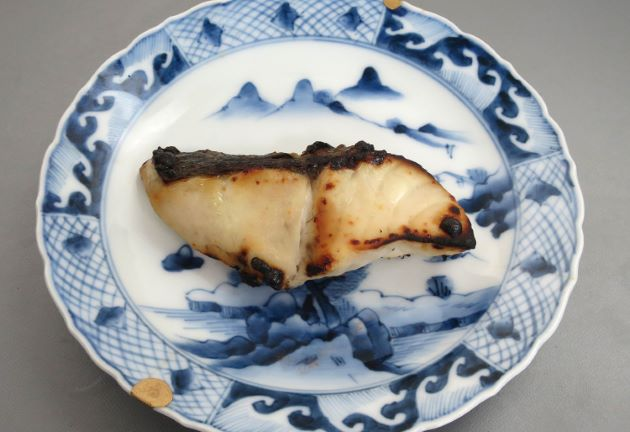 オオニベの塩焼き