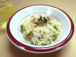 キマダラヒメダイの洋風炊き込みご飯