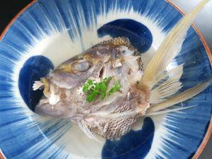 キマダラヒメダイの酒塩煮