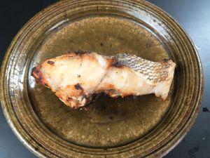 キマダラヒメダイの塩焼き