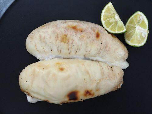 ゴマフグの白子焼き