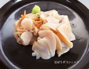 白貝の刺身