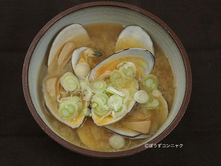 サラガイ(シロガイ)の汁