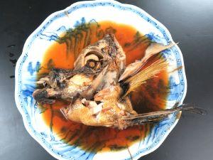 テングダイのしょうゆ煮