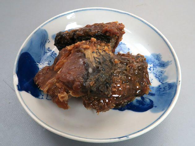 鯉のカルシウム煮