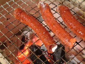 焼きエゾイバラガニ