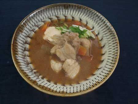オニダルマオコゼの魚汁