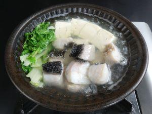 カンムリベラのちり鍋