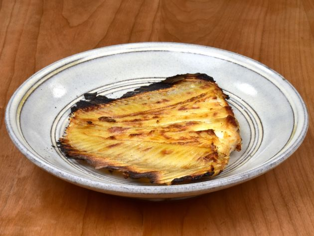 アマミウシノシタの若狭焼き