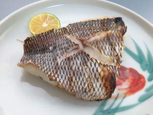 イソフエフキの塩焼き
