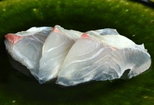 クロヒラアジの刺身