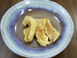 キビレアカレンコの天ぷら