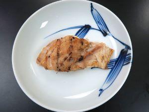イシフエダイの塩焼き