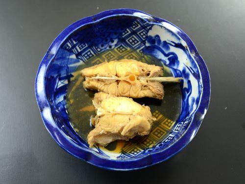 ソウシハギの煮つけ
