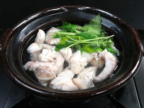 ホウセキハタの鍋