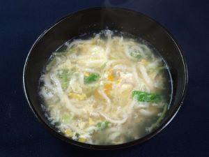 シロウオと卵のすまし汁