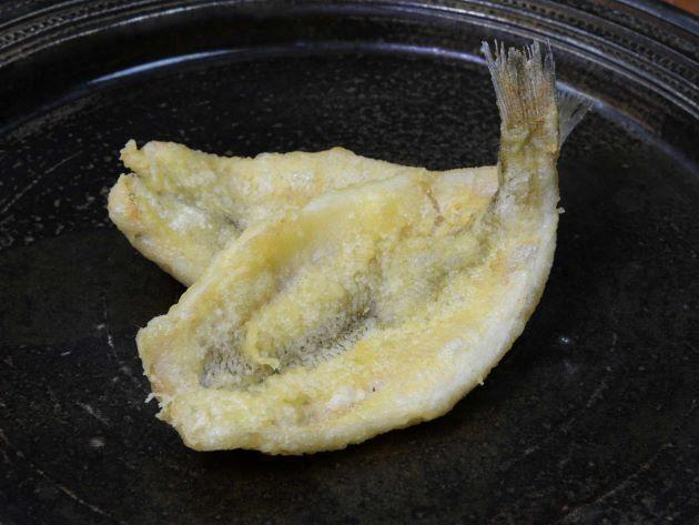 シロギスの天ぷら