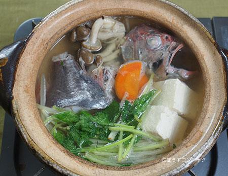 ヒウチダイのちり鍋