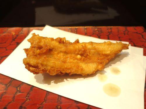 穴子の天ぷら